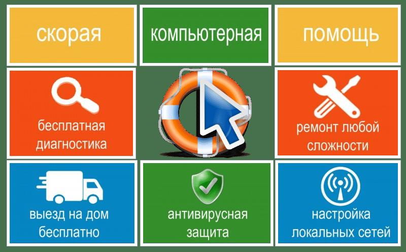 Компьютерная помощь на дому в Челябинске
