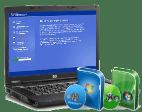 Вызов мастера для установки Windows